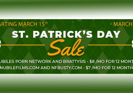 Nubiles St. Patrick´s Day March 15th - March 18