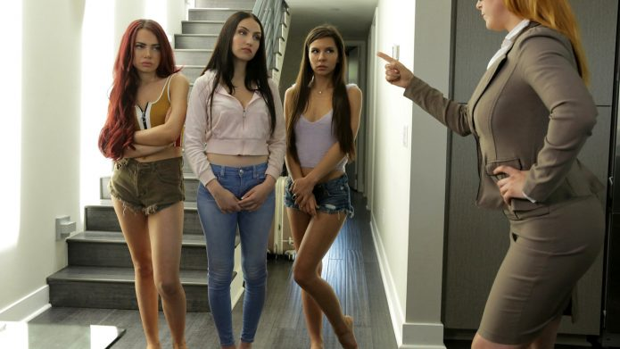 Jade Baker and Milana Ricci with Sabina Rouge - Girls Left Alone