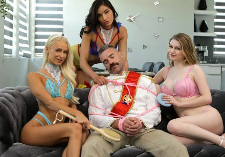 Bunny Colby Emily Willis Emma Hix - Three Princesses Prince Charming