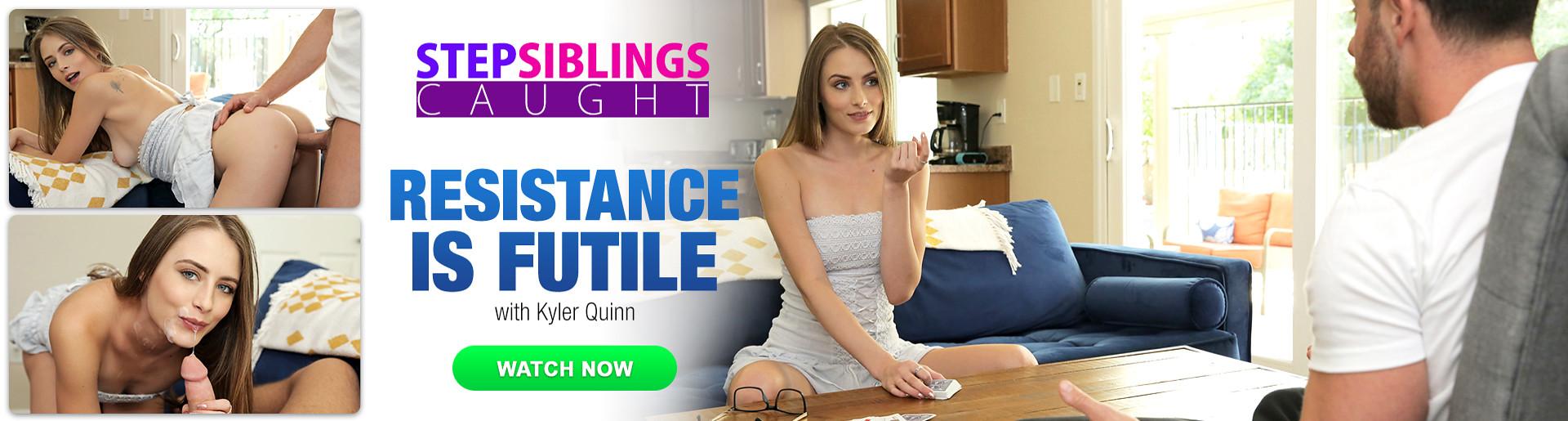 StepSiblingsCaught - Resistance is Fule with Kyler Quinn