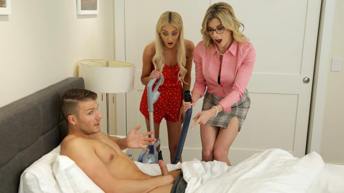 Moms Teach Sex Cory Chase - Tallie Lorain - Mom His Dick Is Stuck In A Vacuum Cleaner - S13-E4