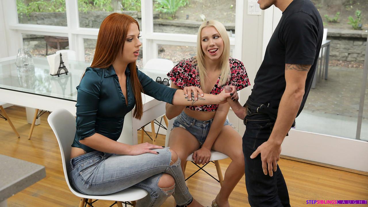 Step Siblings Caught Chanel Grey - Scarlett Mae - I Got My Step Sister To Fuck My Boyfriend