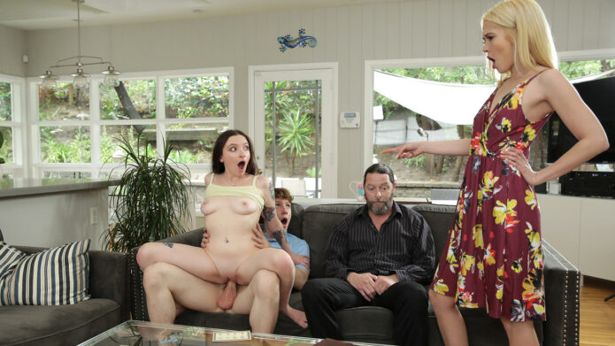 FamilySwap Leia Rae - Tiffany Fox - Family Swap Wife