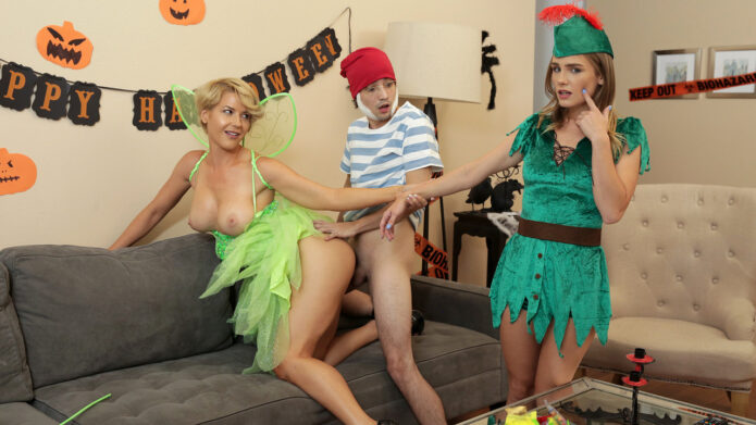 MomsTeachSex Kit Mercer - Natalie Knight - What Happened With My Stepmom On Halloween