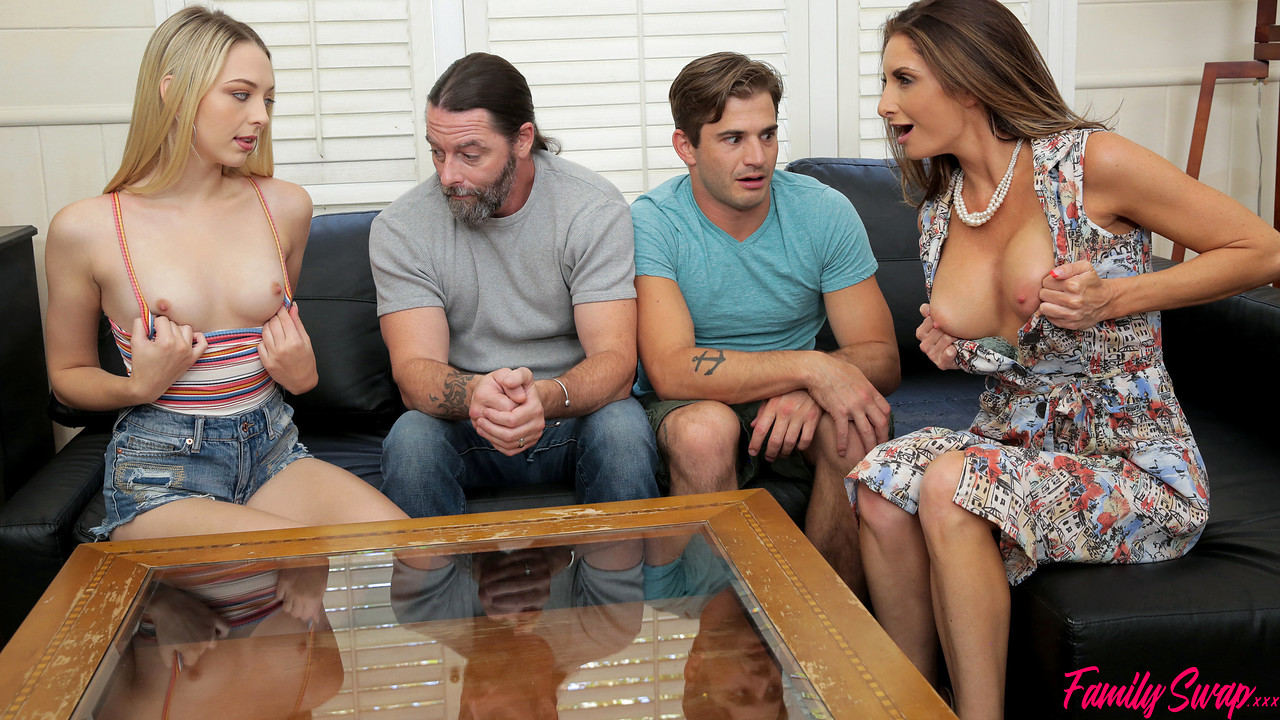 FamilySwap - Lily Larimar - Silvia Saige - When The Swap Goes Wrong S2E1