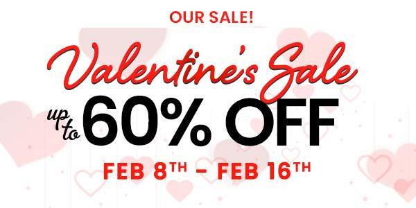 Valentine 2021 sale