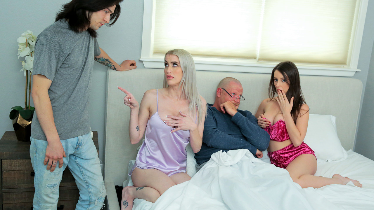 FamilySwap - Charly Summer - Katie Monroe - Taking Care Of Swap Dad On Fathers Day S3E4